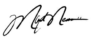 Mark Messier Signature